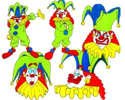 Pierre the Clown Design by guerotheartist