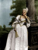Lady in historical costume by VelkokneznaMaria