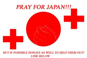 Pray for Japan + donation link by DarkHalo4321
