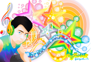 colorful music by kumister