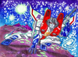 Starscream's Glory by blackhellcat