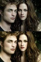Bella and Edward Vampire Couple by VCRetouching