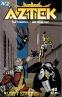 Cover of Aztek Issue 2 by MrFixit741