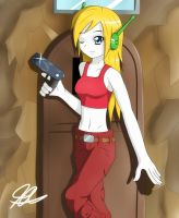 Cave Story : Curly by Quote-J