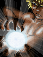 Rasengan by kittychasesquirrels