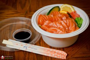 Salmon Donburi on Day 75 by AeroStrike