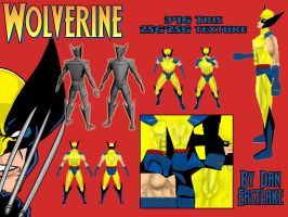 Wolverine character sheet by snakes23