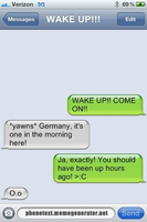 Germany's Rude Wake-up Call. by HetalianWeirdo