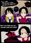 Ace and luffy's halloween candy got eaten 1 by brendalai