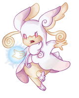 Mega Audino by Pupuomena