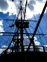 Masts and Sails by myersphoto