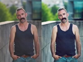 Jason- Before and After Retouching by DanOstergren