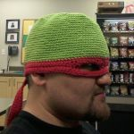 Ninja Turtle hat with mask by silivrensf