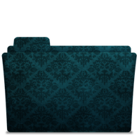 Folder-Icon Elegant Blue by TylerGemini