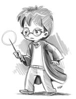 Harry Potter by marciolcastro