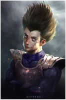 Vegeta by bloodyman88