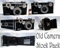 Old Camera Stock Pack by XdemonicXstockX