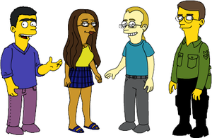 Simpson Guys by Elcool