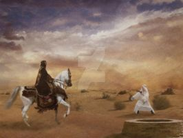 Clash before the sandstorm by Owll