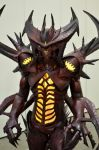Detailed shot of Diablo Costume by Clivelee
