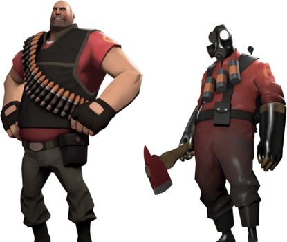 Heavy X Pyro by Fail-Seeker