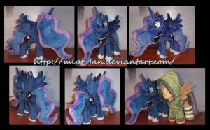16 inchess tall Luna by MLPT-fan