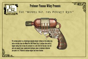 The Model 245 Pocket Ray by davincisghost
