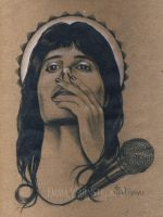 Freddie Mercury by Warnstrom