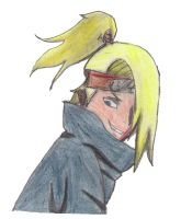 Deidara by Karak-Crow
