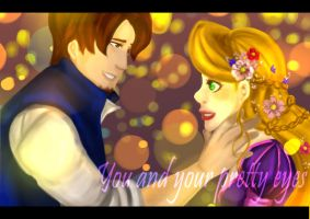 Tangled+Pretty Eyes+ by Hinapouri