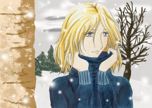 Scorpius in Winter by Levicorpus