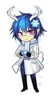 GaiaOnline - Winter Avi Chibi by Majime