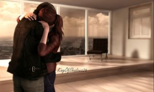 I miss U! ( Leon and Claire) by kingofshadows26