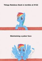 Rainbow Dash is bad at poker by Hakar-Kerarmor