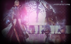 Lightning Returns: Final Fantasy XIII by OmniaMohamedArt