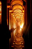 The Basilica Cistern by Figolina