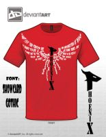 Phoenix T-shirt by denpoy25