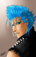 Punk Grimmjow by R-Blackout