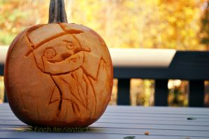 Carving Pumpkins Like a Sir by FeralFinch