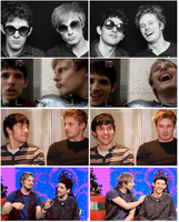 Making each other laugh - Brolin by FreakyFangirl97