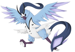 Evolution of Articuno by Twime777
