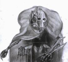 General Grievous Drawing by oinkboinky