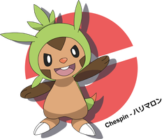 Chespin by Niekkk