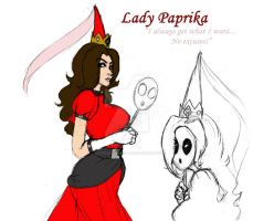 Lady of the Shy Guys... by LadyNyaruInfinity