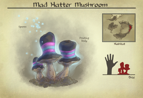 AA: Mad Hatter mushroom by number11train
