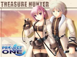 Treasure Hunter, ProjectONE by maxwindy