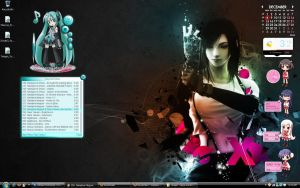 Current desktop by haruhis2kyon