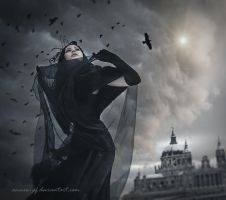 Raven Queen by annewipf