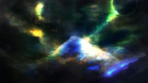 Speed Paint - Snowy Mountain by PedroCampello