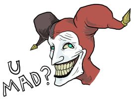 Shaco U MAD? by x-stripe-x